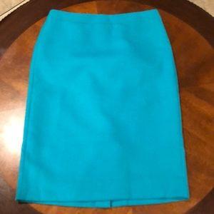 J Crew Wool Pencil Skirt Size 6